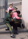 지난 2012년 중국 내 일본영사관 진입을 시도하다 끌려나오는 한 탈북민 여성