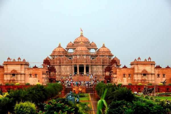 인도의 악샤르담 힌두사원