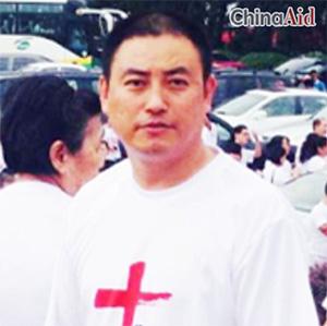 신변 위협을 호소한 중국 저장성 상쟝교회 옌샤오지에 목사
