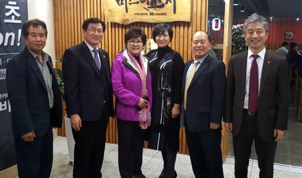 김연재연구소·엘을 방문한 씨램프 총동문회