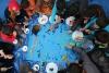 시리아 크리스마스 아트캠프 활동 사진
