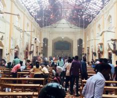 스리랑카 연쇄 테러로 시온교회 최소 28명 희생