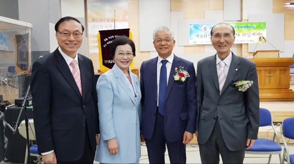한국기독교직장선교목회자협의회(직목협) 제1대 대표회장 취임예배