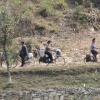 자전거 타는 북한 주민들